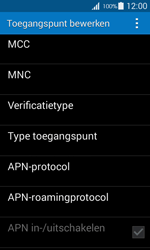 Samsung G357 Galaxy Ace 4 - Internet - handmatig instellen - Stap 13