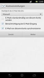 Sony Xperia T - E-Mail - Manuelle Konfiguration - Schritt 14