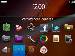 BlackBerry 9900 Bold Touch - wifi - handmatig instellen - stap 3
