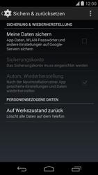 LG D821 Google Nexus 5 - Fehlerbehebung - Handy zurücksetzen - Schritt 7