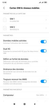 Xiaomi Mi Mix 3 5G - Internet et roaming de données - Comment vérifier que la connexion des données est activée - Étape 5