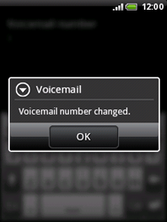 HTC A3333 Wildfire - Voicemail - Manual configuration - Step 7