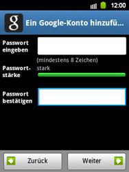 Samsung Galaxy Y - Apps - Konto anlegen und einrichten - 10 / 21