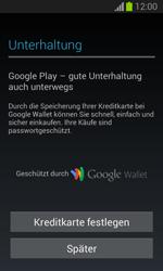 Samsung Galaxy Trend Lite - Apps - Einrichten des App Stores - Schritt 22