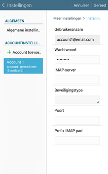 Samsung Galaxy Tab4 8.0 4G (SM-T335) - E-mail - Instellingen KPNMail controleren - Stap 14