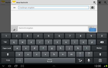 Samsung P5100 Galaxy Tab 2 10-1 - MMS - Erstellen und senden - Schritt 7