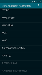 Samsung Galaxy S5 - MMS - Manuelle Konfiguration - 10 / 19