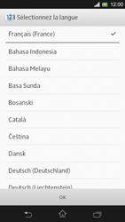Sony Xpéria SP - Premiers pas - Créer un compte - Étape 4