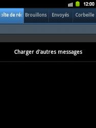 Samsung Galaxy Y - E-mail - Configuration manuelle - Étape 4