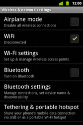 Alcatel OT-983 - WiFi - WiFi configuration - Step 6