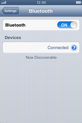 Apple iPhone 3GS - Bluetooth - connecting devices - Step 9