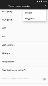 OnePlus 3 - Android Oreo - MMS - handmatig instellen - Stap 16