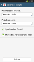 Samsung SM-G3815 Galaxy Express 2 - E-mail - configuration manuelle - Étape 17