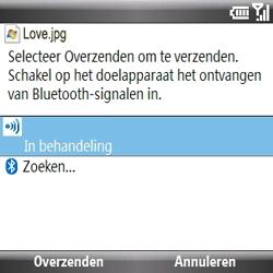 Samsung B7330 Omnia Pro - contacten, foto