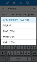 Samsung G388F Galaxy Xcover 3 - E-Mail - E-Mail versenden - Schritt 17