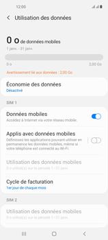 Samsung Galaxy A21s - Internet et connexion - Désactiver la connexion Internet - Étape 6