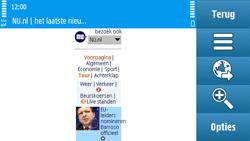 Nokia N97 - internet - hoe te internetten - stap 13