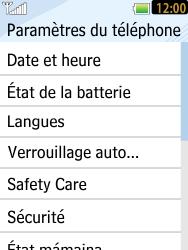 LG T385 - Sécuriser votre mobile - Activer le code de verrouillage - Étape 5