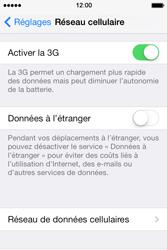 Apple iPhone 4 S iOS 7 - Internet - Configuration manuelle - Étape 5