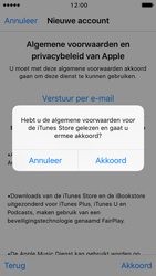 Apple iPhone SE (iOS 10) - apps - account instellen - stap 11