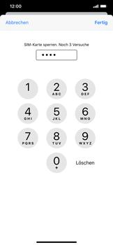 Apple iPhone 11 Pro Max - Startanleitung - So aktivieren Sie eine SIM-PIN - Schritt 7