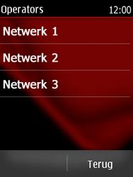 Nokia Asha 300 - Netwerk - Handmatig netwerk selecteren - Stap 11