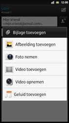 Sony LT26i Xperia S - E-mail - E-mail versturen - Stap 10
