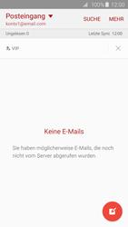 Samsung Galaxy S6 Edge - E-Mail - Konto einrichten - 0 / 0