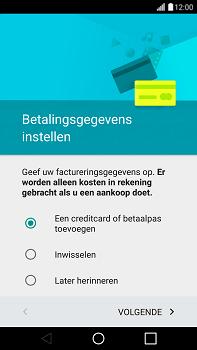 LG G4 - apps - account instellen - stap 15