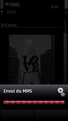 Nokia 5800 Xpress Music - MMS - envoi d'images - Étape 16