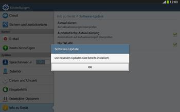 Samsung Galaxy Tab 3 10-1 LTE - Software - Installieren von Software-Updates - Schritt 9