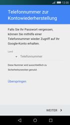 Huawei P8 Lite - Apps - Konto anlegen und einrichten - 8 / 19