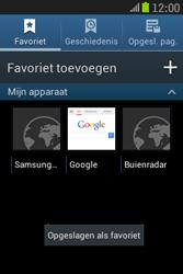 Samsung S6310 Galaxy Young - Internet - hoe te internetten - Stap 11