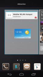 Huawei Ascend P6 - Startanleitung - Installieren von Widgets und Apps auf der Startseite - Schritt 7