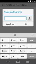 Huawei Ascend P6 LTE - Voicemail - Handmatig instellen - Stap 8