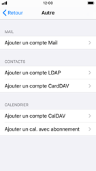 Apple iPhone SE - iOS 13 - E-mail - configuration manuelle - Étape 6
