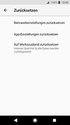 Sony Xperia XA2 - Fehlerbehebung - Handy zurücksetzen - 8 / 12