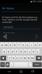 Sony D6603 Xperia Z3 - Apps - Konto anlegen und einrichten - Schritt 5