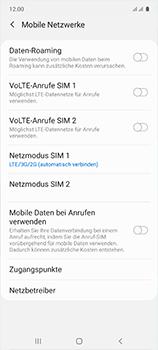 Samsung Galaxy A51 - Netzwerk - So aktivieren Sie eine 4G-Verbindung - Schritt 8