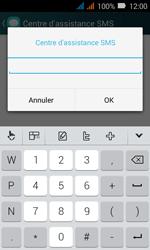 Huawei Y3 - SMS - Configuration manuelle - Étape 9