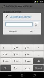 Sony Xperia M2 - voicemail - handmatig instellen - stap 8