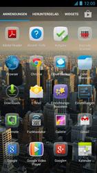 Alcatel One Touch Idol - Startanleitung - Installieren von Widgets und Apps auf der Startseite - Schritt 3