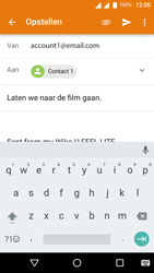 Wiko U-Feel Lite - E-mail - E-mails verzenden - Stap 8
