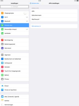 Apple iPad Pro - Internet - Handmatig instellen - Stap 6