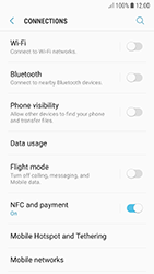 Samsung A320F Galaxy A3 (2017) - Android Oreo - Internet - Disable mobile data - Step 5