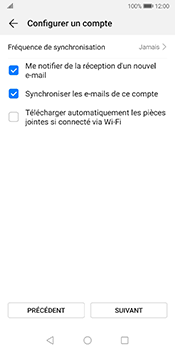 Huawei Mate 10 Pro - Android Pie - E-mail - 032b. Email wizard - Yahoo - Étape 7