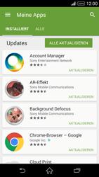 Sony Xperia Z2 - Apps - Nach App-Updates suchen - Schritt 6
