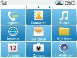 Samsung C3500 Chat 350 - E-mail - Hoe te versturen - Stap 3