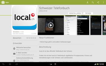 Sony Xperia Tablet Z LTE - Apps - Installieren von Apps - Schritt 10