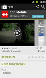 Samsung Galaxy S Advance - Apps - Installieren von Apps - Schritt 21
